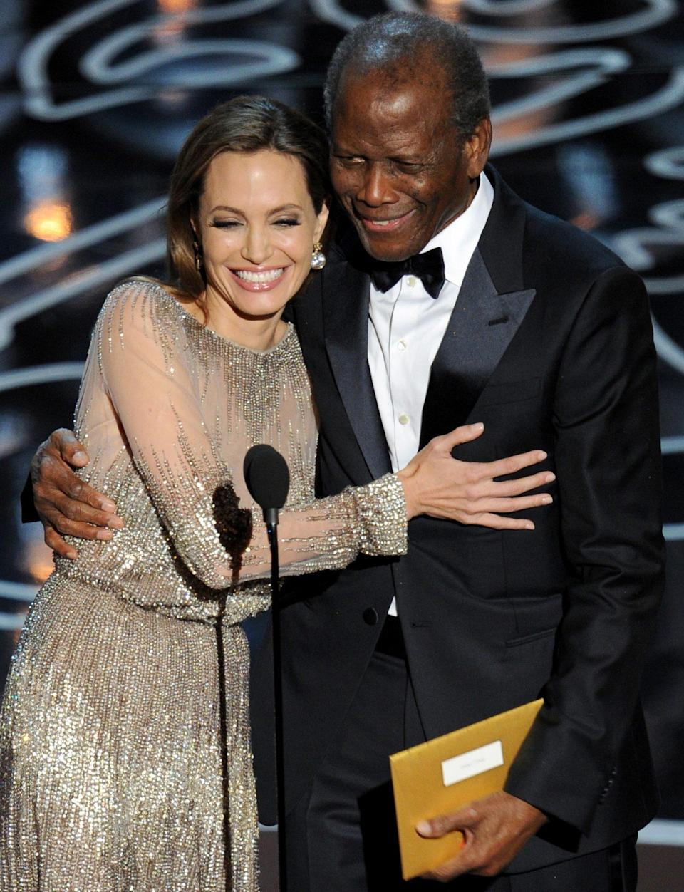 <p>Making one of his more recent public appearances at the 2014 Oscars in Los Angeles, presenting Best Director with Angelina Jolie.</p>