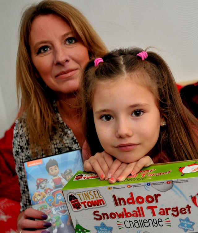 Marsha said she was proud of her daughter for her generous gesture (Picture: SWNS)