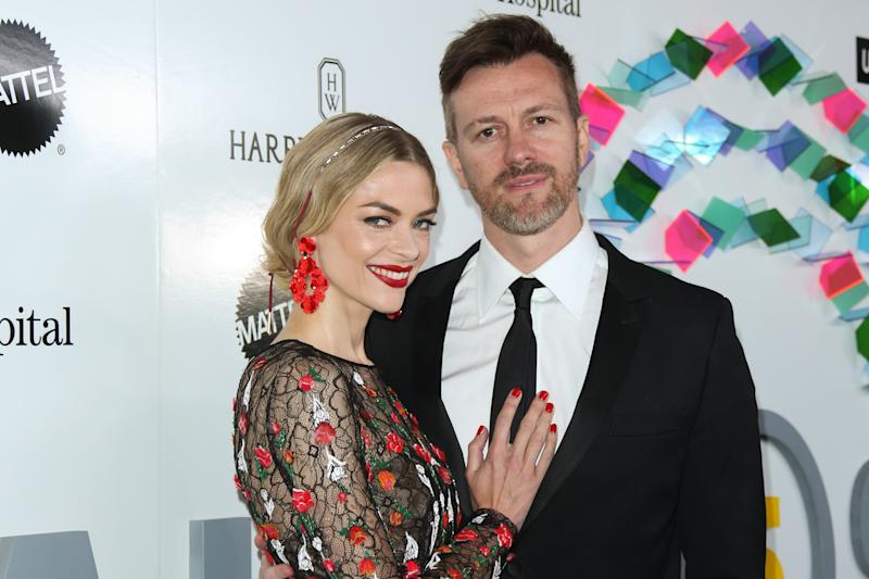 Jaime King and Kyle Newman attend an event on May 6, 2017, in Culver City, Calif. (Photo: Paul Archuleta/FilmMagic)