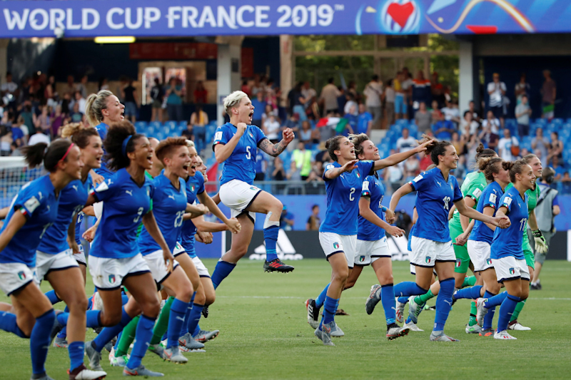 Women's World Cup: Italy Beat China to Reach Quarter-finals in 1st Appearance Since 1991