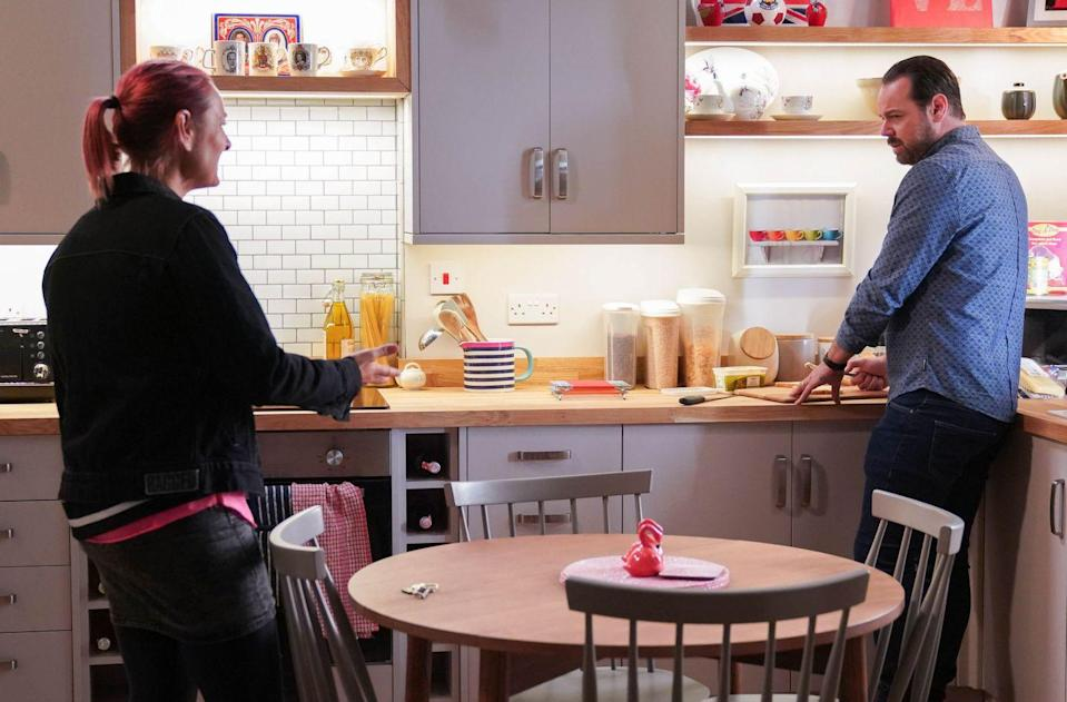 <p>She's unimpressed that he snapped at Linda. However, Tina also tries to give Mick a pep talk, reassuring him that he's a great father. </p>