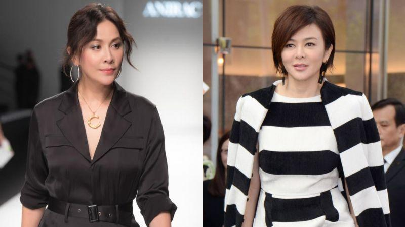 <p>The collage shows Carina Lau (left) and Rosamund Kwan. (Courtesy of Carina Lau and Rosamund Kwan/Facebook)</p>