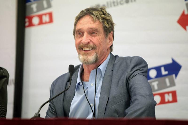 John McAfee announced the launch of the McAfee Freedom Coin, which will make its debut in the fall of 2019. There will be no ICO. | Source: Flickr