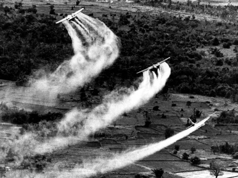 US planes drop Agent Orange in 1966: AP