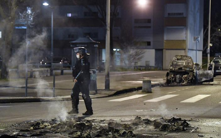 Lyon has for decades witnessed clashes between citizens and the police - GETTY IMAGES