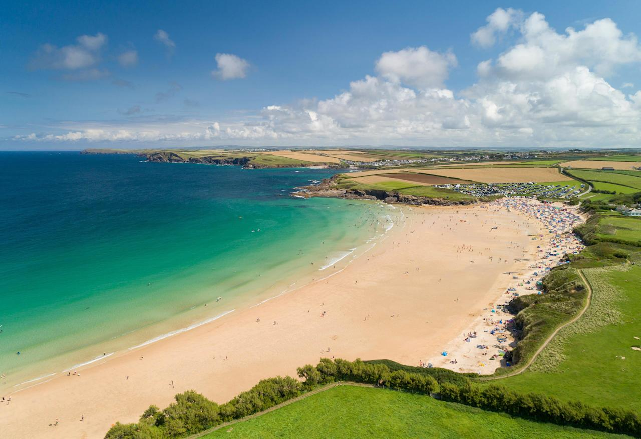 <p>The mansion is located near Padstow, and boasts breathtaking views of nearby Constantine Bay. </p>