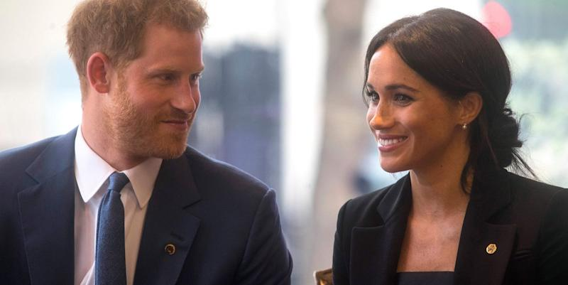 Duchess Meghan Markle Looks So Elegant for Charity Concert with Prince Harry