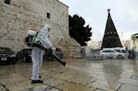 in Bethlehem Christmas mass will be held without worshippers and broadcast online