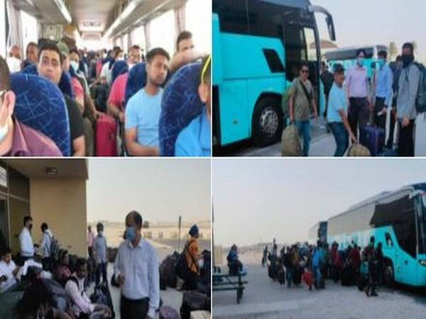 Second batch of 146 Indian nationals evacuated from Afghanistan to Doha, to be repatriated to India. (Twitter)
