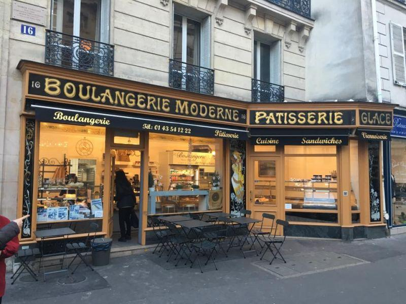 Emily光顧的麵包店: Boulangerie moderne by thierry rabineau