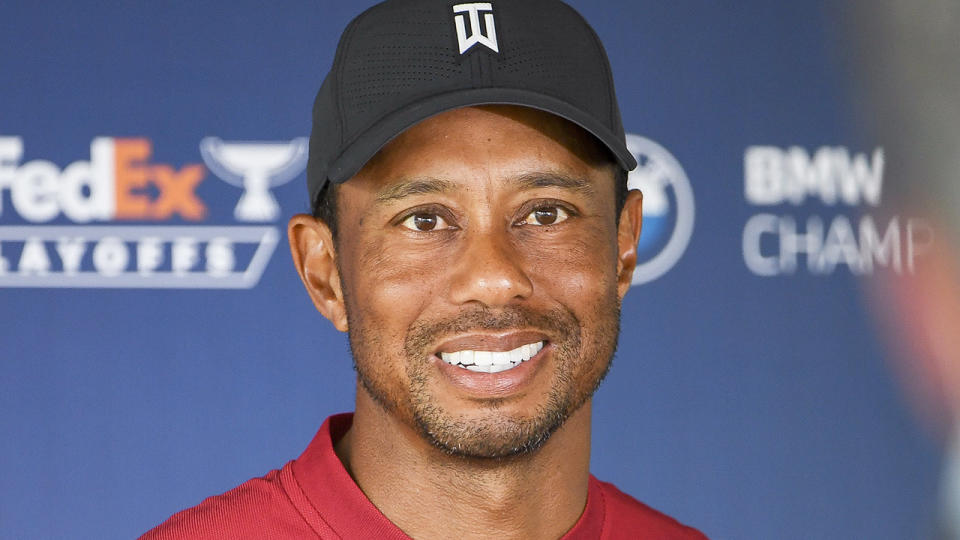 Tiger Woods messaged each member of America's team for the Ryder Cup to offer his encouragement.