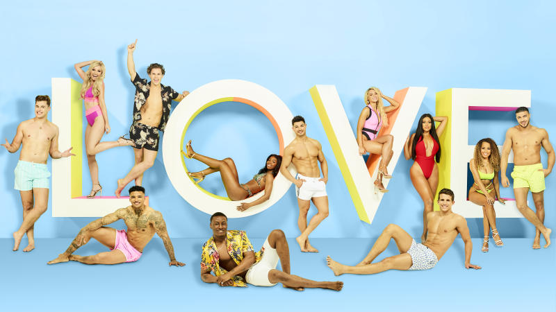 Only six of the 36 Love Island contestants went through the general application process (Photo: ITV)