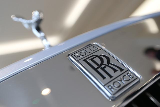The front of a Rolls-Royce Wraith at the company's Berkeley Square showroom in London, as Rolls-Royce Motor Cars has renewed its commitment to Britain after a double-digit jump in UK revenues helped the German-owned company notch up its second highest sales record in over a century.