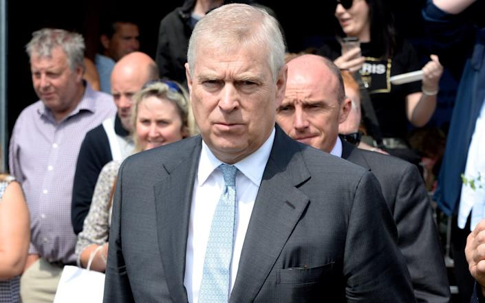 Prince Andrew may be asked to provide access to his computers and mobile phones as part of the MLA request - David Moffitt/Getty Images Europe