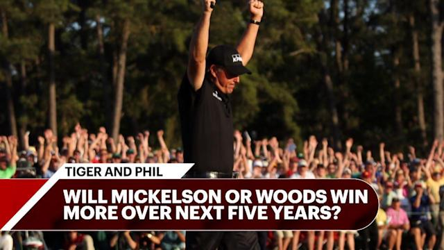 The Tour Confidential team hashes out which former great will win more in the latter part of their PGA career: Phil Mickelson or Tiger Woods?
