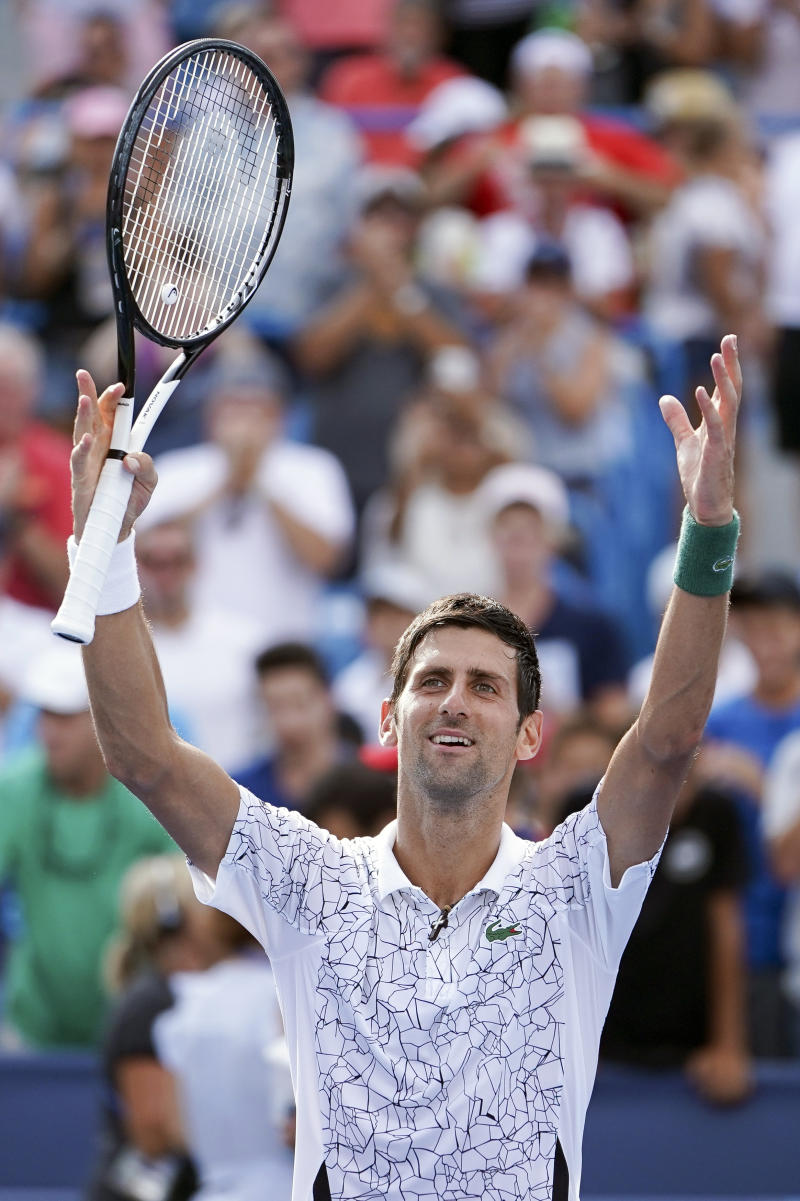 Djokovic Into Cincinnati Final Federer In His Way Again