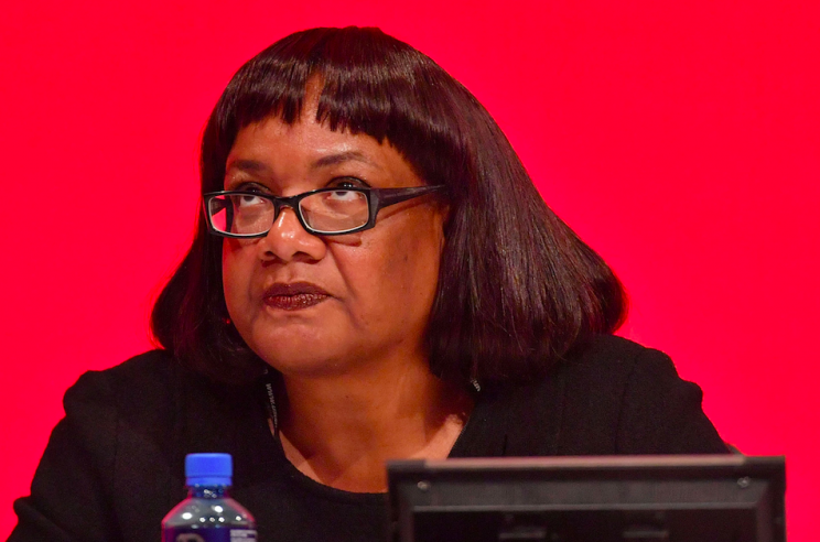 The shadow home secretary got her figures on policing wrong live on air (Rex)