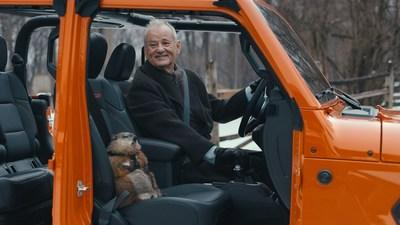 """Bill Murray reprises """"Groundhog Day"""" film role for Jeep brand's Super Bowl Commercial"""
