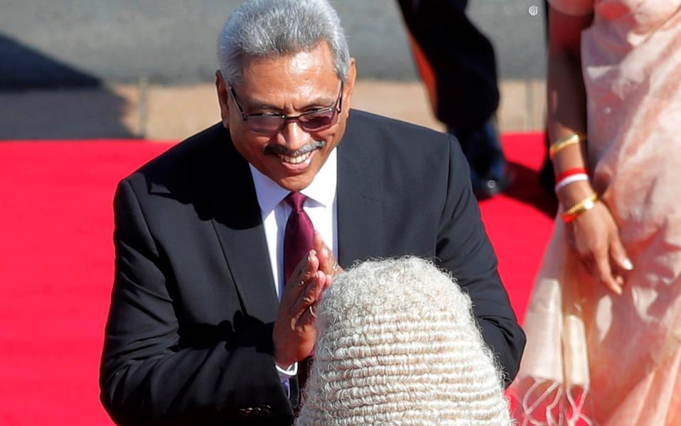 A two-thirds majority would allow Sri Lankan President Gotabaya Rajapaksa to rewrite the constitution - Eranga Jayawardena/AP