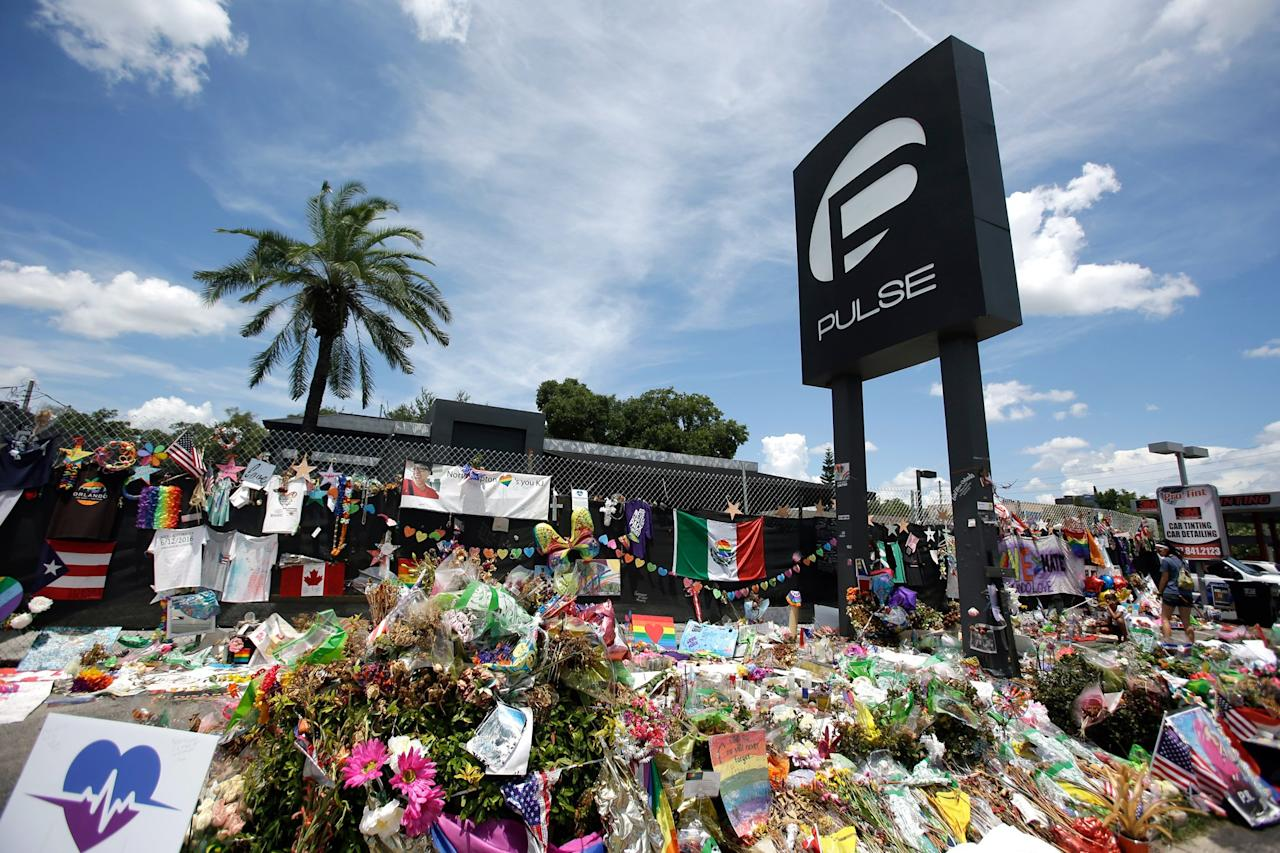 """In the aftermath of the June 12, 2016, shooting at the nightclub she opened in memory of an older brother, John, who was lost to AIDS, <a href=""""https://people.com/crime/3rd-anniversary-pulse-shooting-nightclub-owner-memorial/"""">Pulse co-founder and onePulse Foundation CEO Barbara Poma</a> said she imagined a memorial to """"honor the 49 lives taken and all those affected while also educating visitors and future generations on the profound impact the tragedy had on Orlando, the U.S. and the world.""""  At the time, it was the deadliest mass shooting by a single gunman in U.S. history, and it remains the deadliest modern-day attack on the LGBTQ community.  """"It was a terrorist attack,"""" Poma told PEOPLE on the third anniversary. """"It happened to a community that was already disenfranchised."""""""