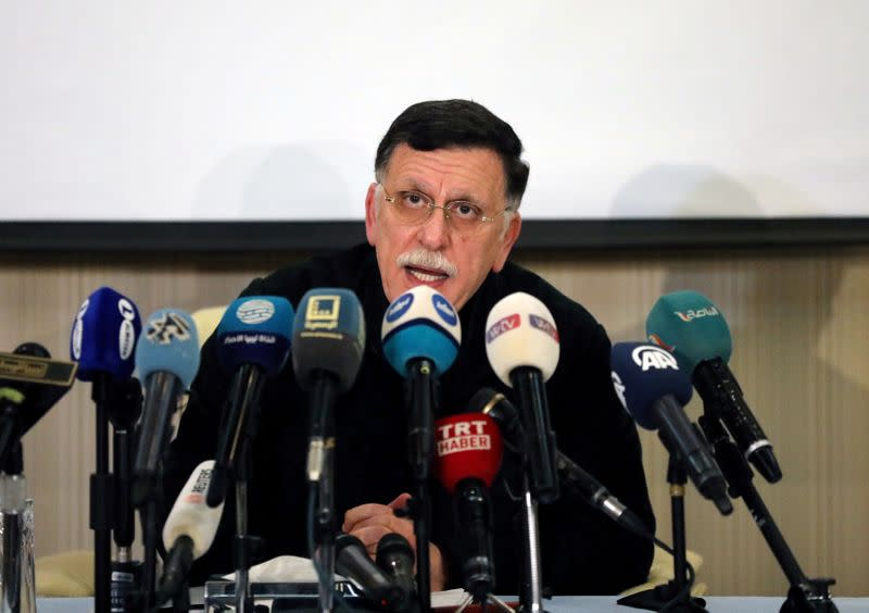 Libya's Tripoli-based government and rival parliament take steps to end hostilities