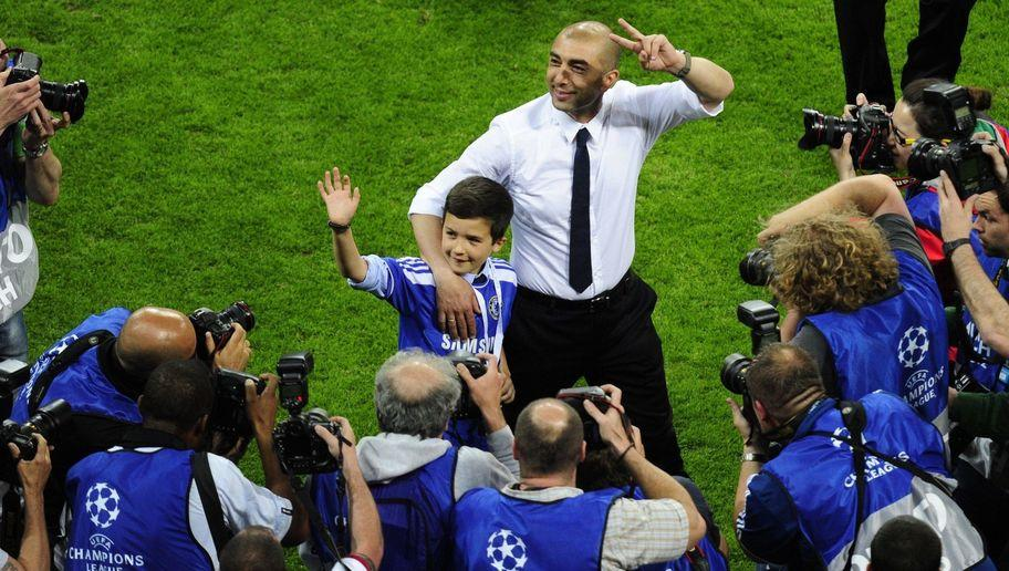 <p>Roberto Di Matteo was appointed caretaker manager of Chelsea in March 2012 after the dismissal of Andre Villas-Boas. The post was temporary until the end of the season, when the situation would be looked at again depending on how the Italian had done.</p> <br /><p>During those three months, Di Matteo afforded himself legendary status at Stamford Bridge. He immediately overturned a 3-1 deficit against Napoli in the last 16 of the Champions League, a remnant of the Villas-Boas era, and this was followed up with an epic semi-final victory against Barcelona, including a 2-2 draw at the Camp Nou.</p> <br /><p>In May of 2012, Di Matteo's Chelsea side beat Liverpool 2-1 in the FA Cup Final, then even more incredibly, the Blues won the Champions League Final in a penalty shoot out against Bayern Munich in the Allianz Arena.</p> <br /><p>Chelsea are still the only London club to win the trophy.</p>
