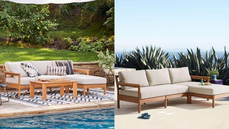 Turn your backyard into the ultimate lounge space.