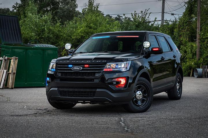 the 2017 ford police interceptor utility is going stealth. Cars Review. Best American Auto & Cars Review
