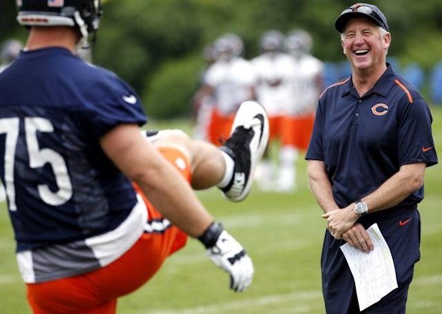 John Fox has the Bears going in the right direction (AP)