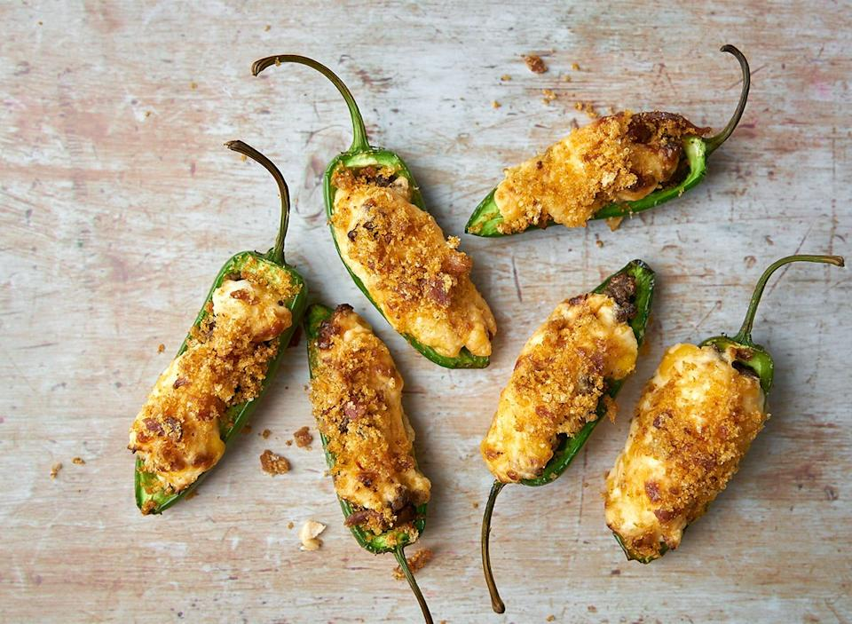 keto stuffed jalapeno poppers