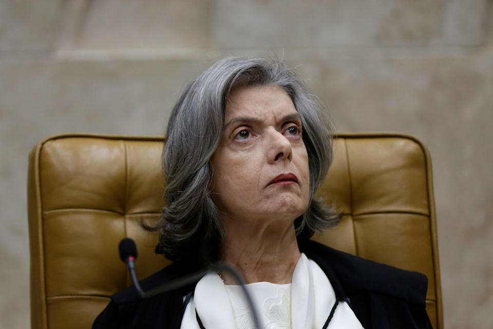 Brazil's Supreme Court President Carmen Lucia looks on during an opening session of the Year of the Judiciary, at the Supreme Court in Brasilia, Brazil February 1, 2018. REUTERS/Ueslei Marcelino