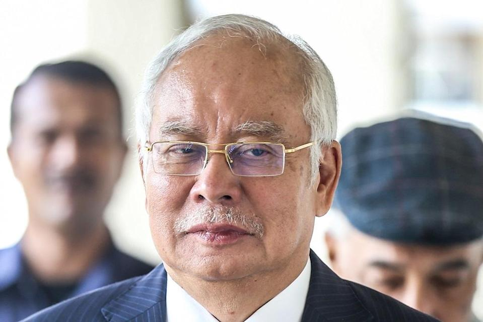Datuk Seri Najib Razak warned that Singapore's exclusion from a high-speed rail line will make the project unsustainable. — Picture by Firdaus Latif