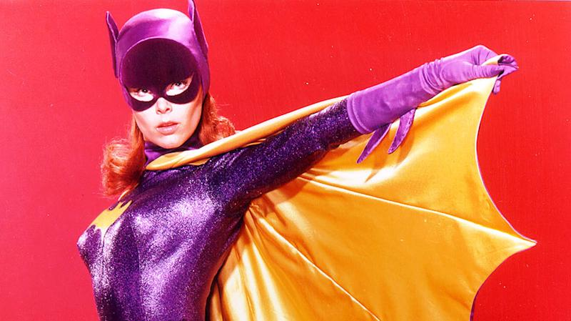 The late Yvonne Craig, the original Batgirl from TV's 'Batman' (credit: Warner Bros)