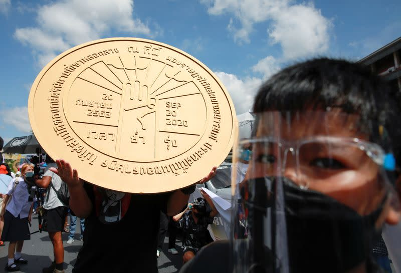 Protests in Bangkok to mark the 89th anniversary of the abolition of absolute monarchy
