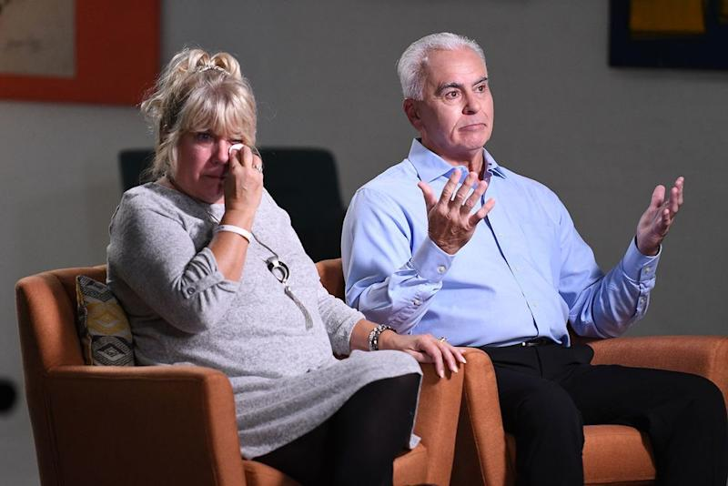 From left: Cindy and George Anthony