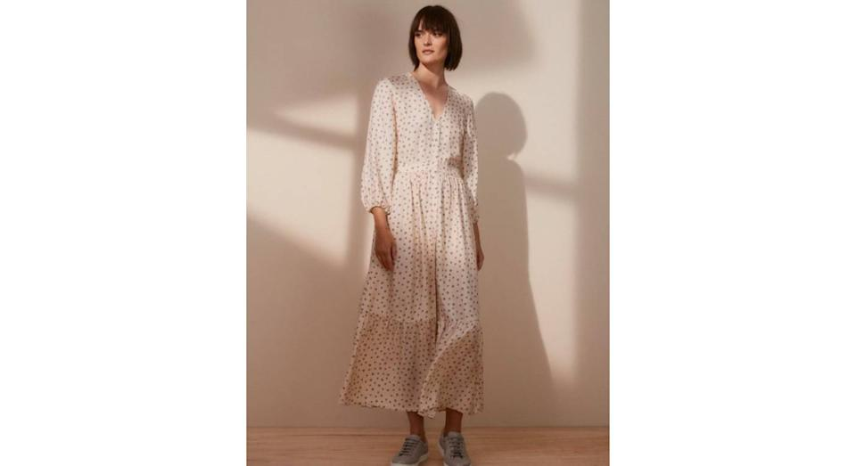 Daisy Print Midi Dress (The White Company)
