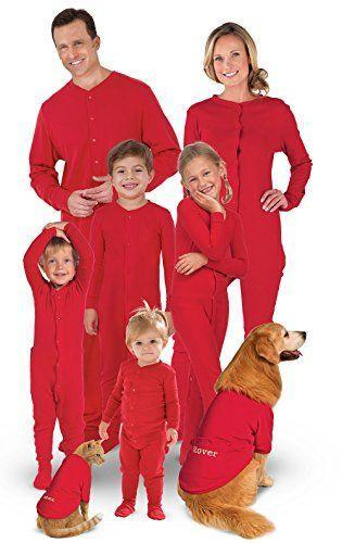 "<p><strong>PajamaGram</strong></p><p>amazon.com</p><p><strong>19.99</strong></p><p><a href=""https://www.amazon.com/dp/B073FLLK7J?tag=syn-yahoo-20&ascsubtag=%5Bartid%7C10050.g.25922554%5Bsrc%7Cyahoo-us"" rel=""nofollow noopener"" target=""_blank"" data-ylk=""slk:Shop Now"" class=""link rapid-noclick-resp"">Shop Now</a></p><p>Red is the color of the day! Wear it proudly in one of these dashing ensembles.</p>"