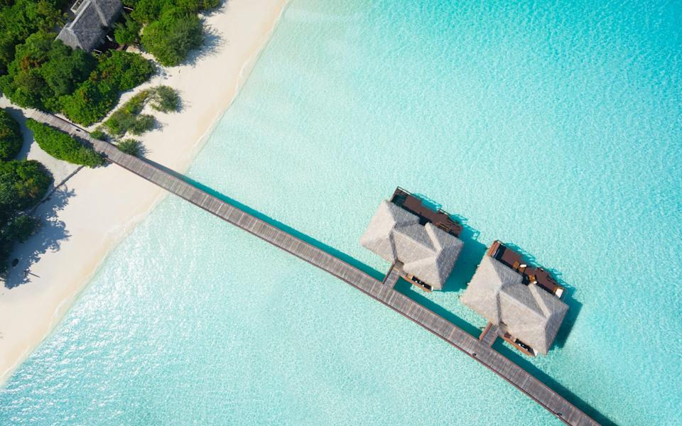 The Maldives is a possibility for a holiday in 2021 - Getty
