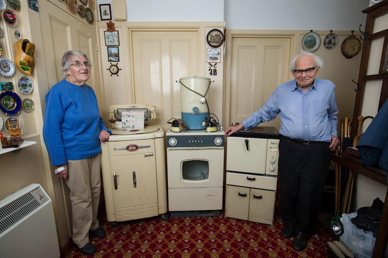 The kitchen appliances have served the couple well for decades (Picture: SWNS)