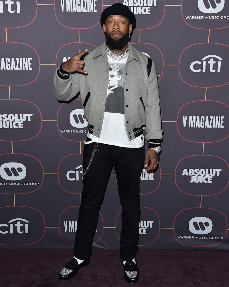 Ty Dolla $ign is dressing like an absolute freakin rockstar.
