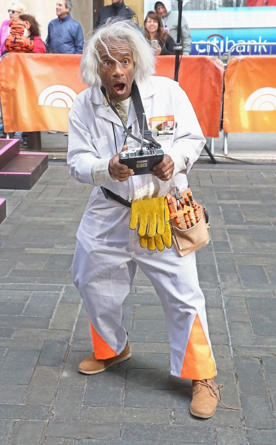 """<p>Broadcaster Al Roker attends the NBC """"Today"""" Halloween 2018 at Rockefeller Plaza on October 31, 2018 in New York City.</p>"""