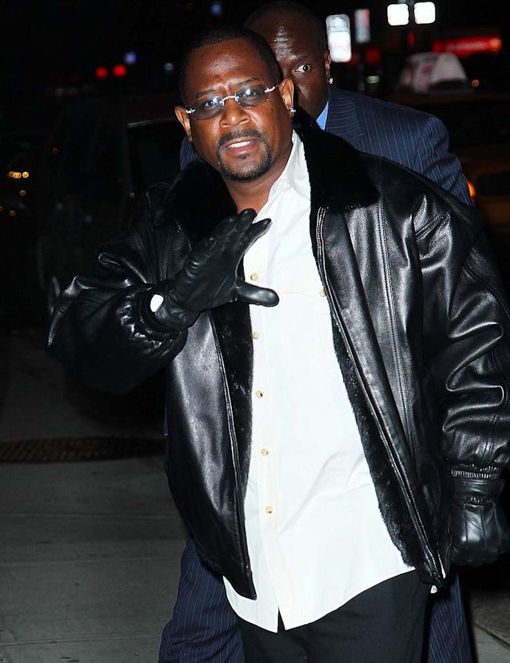 "April 16: Martin Lawrence turns 46 Jeffrey Ufberg/<a href=""http://www.wireimage.com"" target=""new"">WireImage.com</a> - February 7, 2011"
