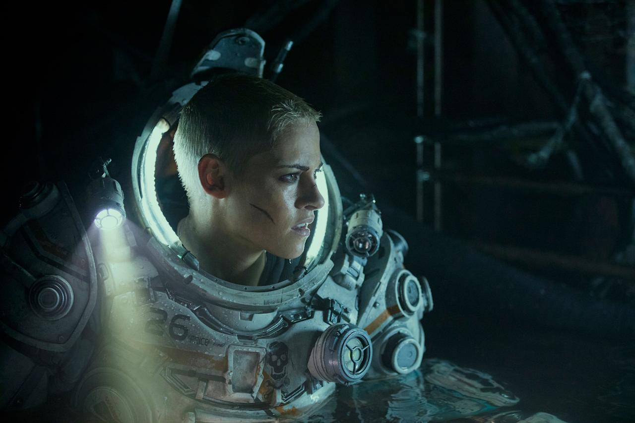 Kristen Stewart continues her action-star run in this movie about a team in a research lab deep down in the ocean that has to fight mysterious creatures on the attack. <em>(In theaters January 10)</em>