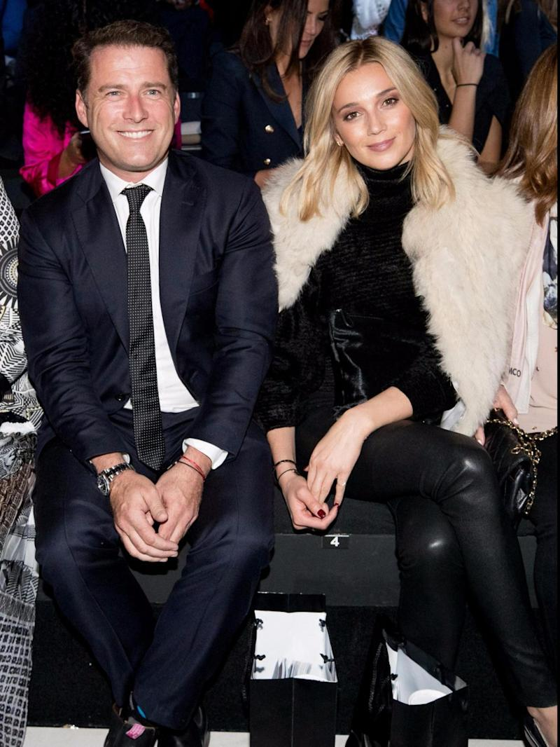 Karl Stefanovic only went public with Jasmine in May. Source: Getty