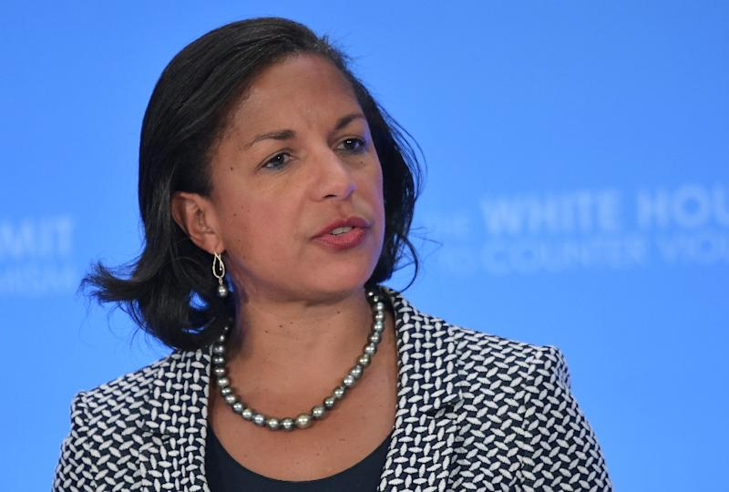 US National Security Adviser Susan Rice said an Iran with a nuclear bomb would threaten Israel and the United States (AFP Photo/Mandel Ngan)