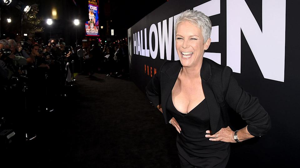 "Jamie Lee Curtis stars in ""Halloween,"" the biggest movie opening with a female lead over 55."