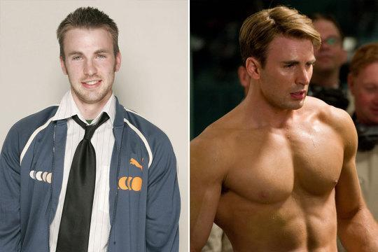 "<p>Evans was already in great shape before he played Captain America, but he admits his training regime for 'The First Avenger' was punishing, saying, ""These weren't normal gym sessions. I was puking at the gym. They were brutal, absolutely brutal.""<br></p>"