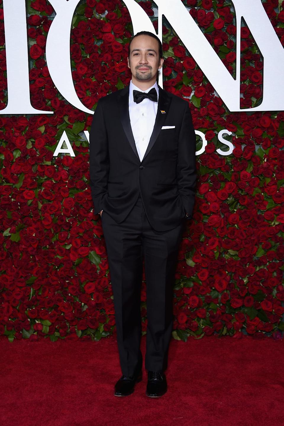 "<p>The man of the night, who was personally nominated for three awards — <i>Hamilton </i>got 16 noms in total — said the ""best thing about the Tonys is that we get to celebrate under the same roof as the people who make these amazing shows all year."" He added, ""On a day marked by such tragedy, we get to celebrate art and new works of art and new music and new plays. I couldn't imagine being anywhere else."" <i>(Photo: Getty Images)</i></p>"