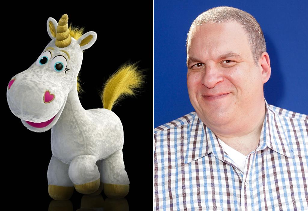 """BUTTERCUP/<a href=""""http://movies.yahoo.com/movie/contributor/1800346445"""">JEFF GARLIN</a>  Though Garlin is new to the """"Toy Story"""" franchise, he did provide the voice for the Captain in another Pixar classic, """"<a href=""""http://movies.yahoo.com/movie/1809902253/info"""">Wall-E</a>."""""""