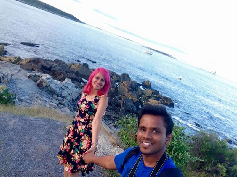 Travel blogger who warned against dangerous selfies dies 'taking cliff edge photo'
